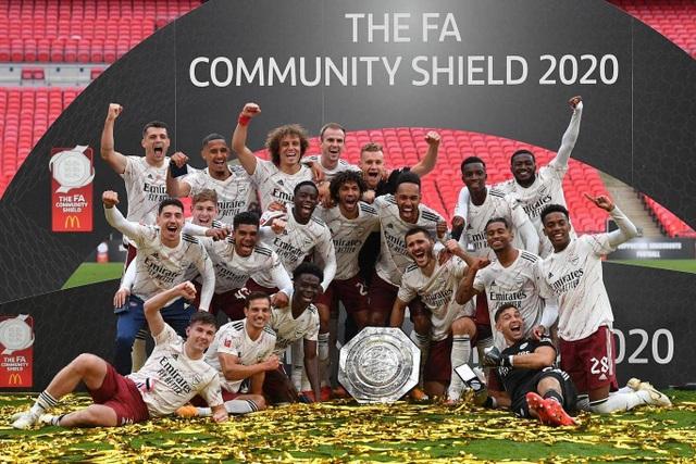 Arsenal giành chiếc cúp đầu tiên của mùa giải 2020/21 - 13