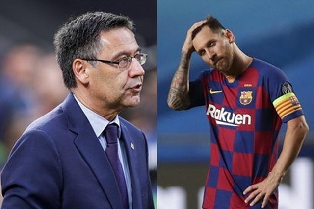 """Messi đang chơi """"đòn hy sinh"""" với Barcelona? - 2"""