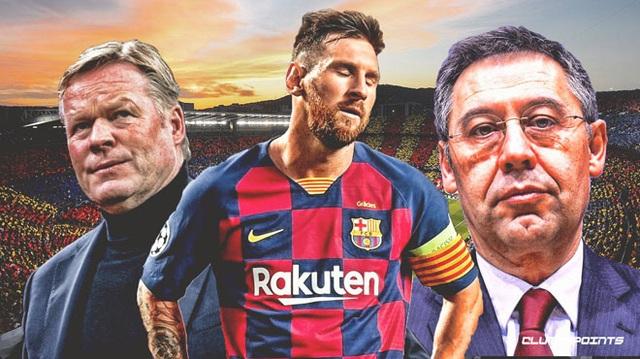 """Messi đang chơi """"đòn hy sinh"""" với Barcelona? - 1"""