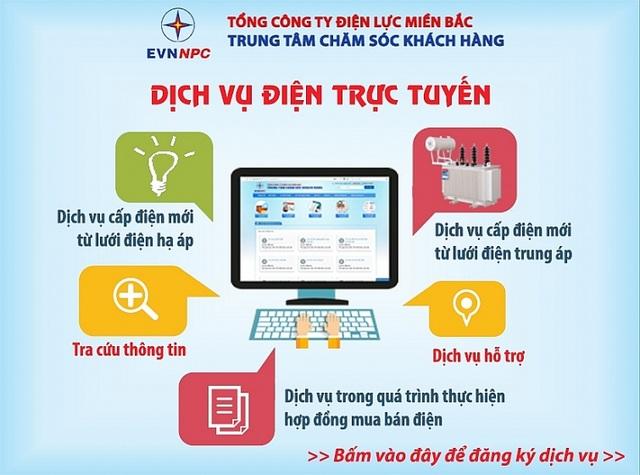 EVNNPC: Ứng dụng hiệu quả công nghệ thông tin trong sản xuất kinh doanh - 1