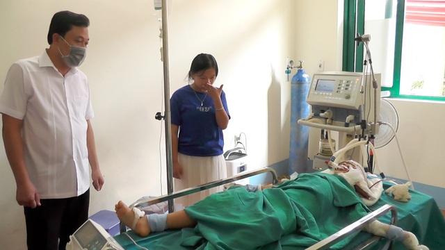Hà Giang: Hai ông cháu gục trên vũng máu, nghi bị sát hại - 1