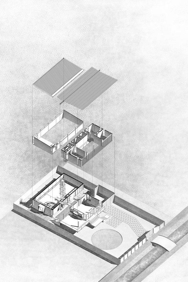 """Độc, lạ: Nhà sàn bê tông """"ẩn mình"""" giữa ngoại ô yên bình ở TPHCM - 14"""