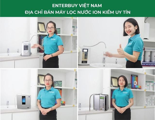 Review top 10 máy lọc nước ion kiềm bởi chuyên gia nước Enterbuy - 4