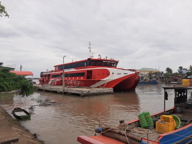 Vụ sạt lở bờ sông Hậu: Tàu cao tốc Cần Thơ - Côn Đảo tạm ngừng hoạt động - 1