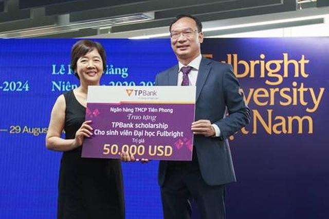 TPBank trao học bổng 50.000 USD cho sinh viên Đại học Fulbright Việt Nam - 1