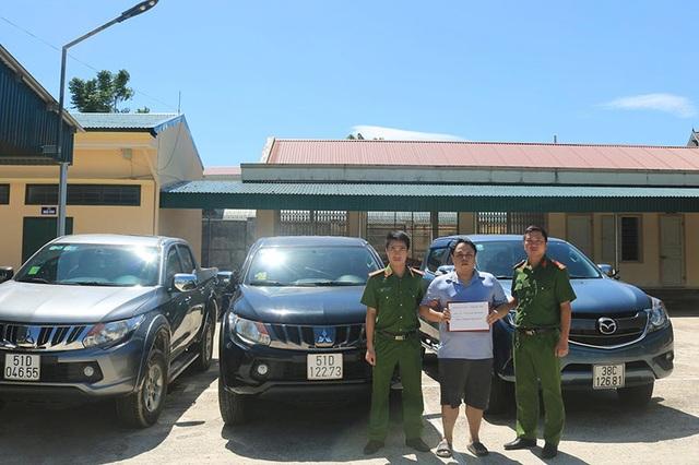 Nhân viên kinh doanh người Đài Loan trộm 3 ô tô mang đi cầm đồ - 1