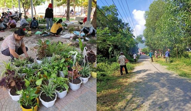 Toàn tỉnh Thừa Thiên Huế ra quân vệ sinh trường học chào đón năm học mới - 5