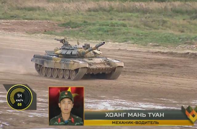 Đội xe tăng Việt Nam cán đích sau Myanmar trong trận bán kết Army Games - 26