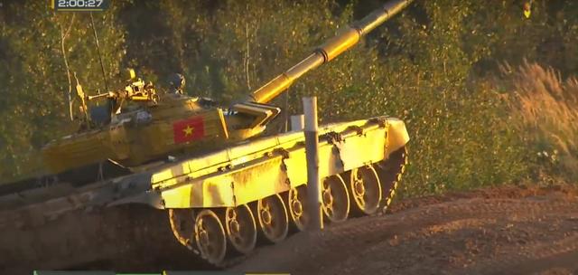 Đội xe tăng Việt Nam cán đích sau Myanmar trong trận bán kết Army Games - 7