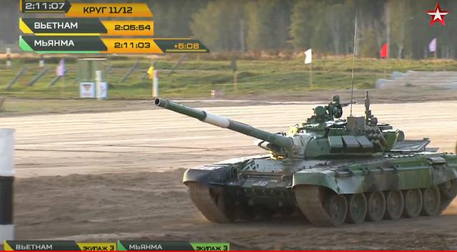 Đội xe tăng Việt Nam cán đích sau Myanmar trong trận bán kết Army Games - 5