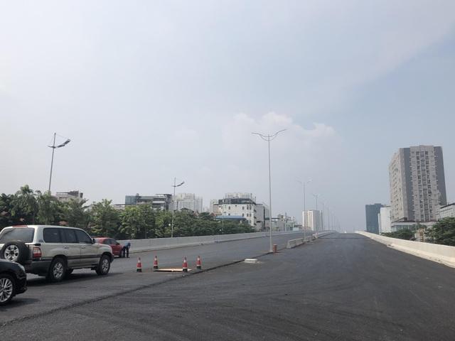 Dự án đường trên cao đẹp nhất Hà Nội thông xe trước ngày 10/10 - 4