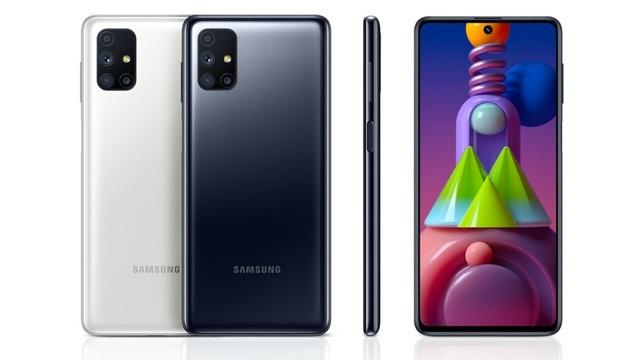 """Samsung ra mắt smartphone Galaxy M51 với pin """"khủng"""" 7000mAh - 1"""