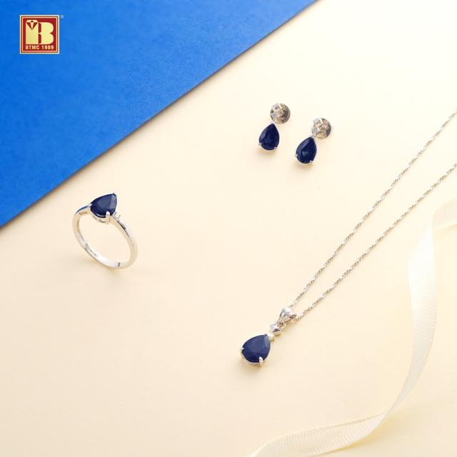Tháng 9 chào thu với trang sức Sapphire sang trọng, may mắn, an lành - 3