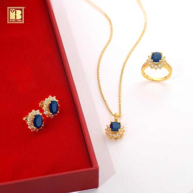 Tháng 9 chào thu với trang sức Sapphire sang trọng, may mắn, an lành - 4