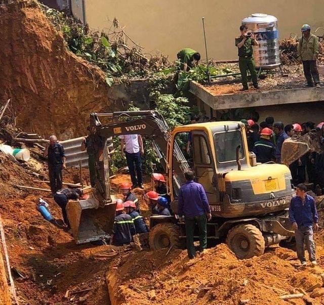 Vụ lở đất tại công trình: Thêm 1 nạn nhân tử vong, nhiều hộ dân phải di dời - 1