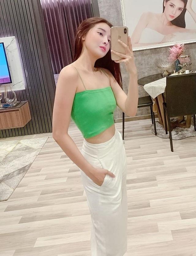Giảm ngoạn mục 5kg trong 10 ngày, Cao Thái Hà tự tin diện bikini khoe dáng - 9