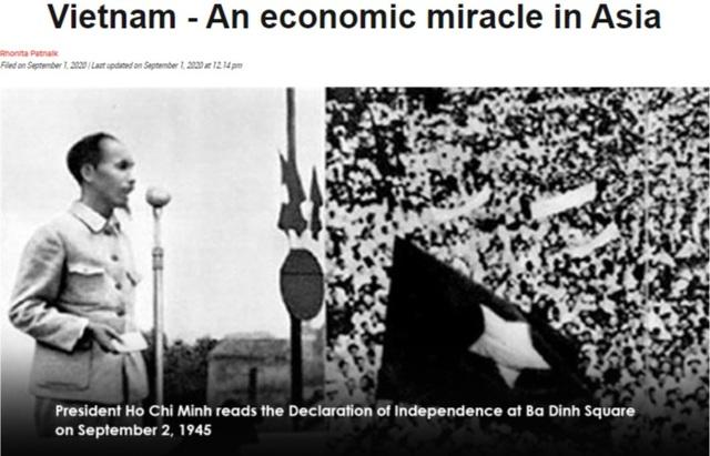 """Báo nước ngoài gọi Việt Nam là """"phép màu kinh tế ở châu Á"""" - 1"""