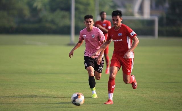 Văn Hậu đá chính, CLB Hà Nội thắng Viettel trước ngày V-League trở lại - 3