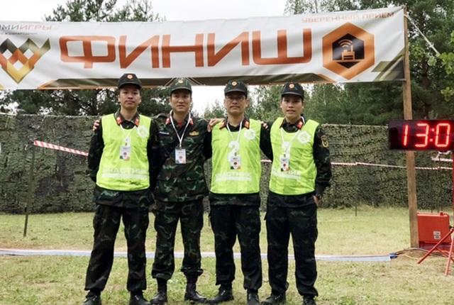 Các đội tuyển Quân đội nhân dân Việt Nam giành thành tích cao tại Army Games 2020 chào mừng Quốc khánh 2-9 - 3