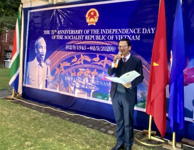 Trang trọng lễ kỷ niệm 75 năm Quốc khánh tại Nam Phi - 2