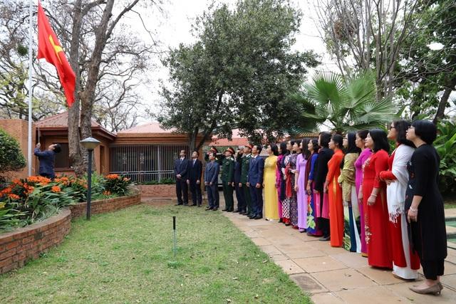 Trang trọng lễ kỷ niệm 75 năm Quốc khánh tại Nam Phi - 1