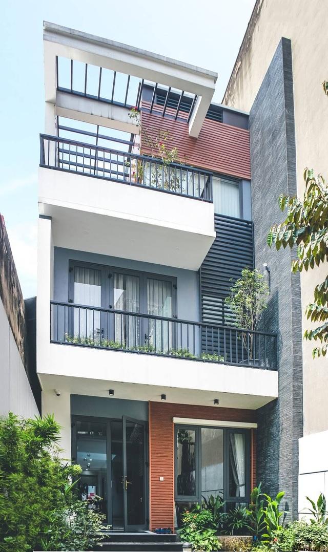 Gia đình ở Hà Nội trồng cả vườn cây xanh đẹp hiếm có trong căn nhà phố - 1