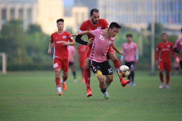 Văn Hậu đá chính, CLB Hà Nội thắng Viettel trước ngày V-League trở lại - 4