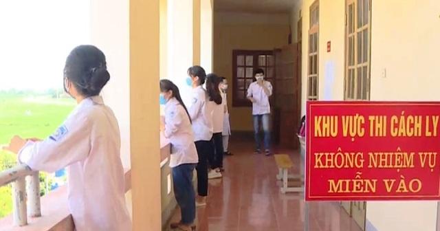 56 thí sinh từ 5 tỉnh/thành dự thi tốt nghiệp THPT đợt 2 tại Thái Bình - 2