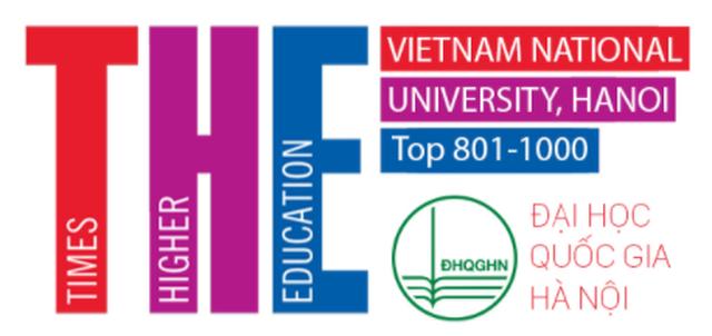 ĐH Quốc gia Hà Nội tiếp tục vào nhóm 801-1000 bảng xếp hạng thế giới THE - 1