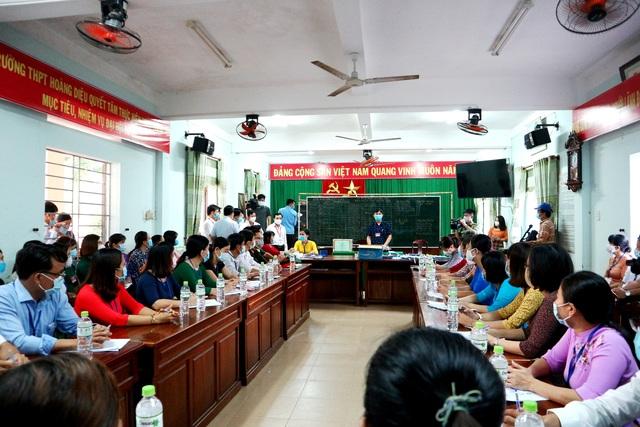 Cục trưởng Mai Văn Trinh kiểm tra công tác coi thi tốt nghiệp tại Quảng Nam - 2