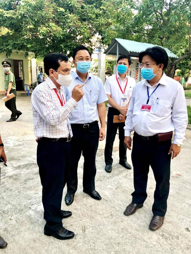 Cục trưởng Mai Văn Trinh kiểm tra công tác coi thi tốt nghiệp tại Quảng Nam - 3