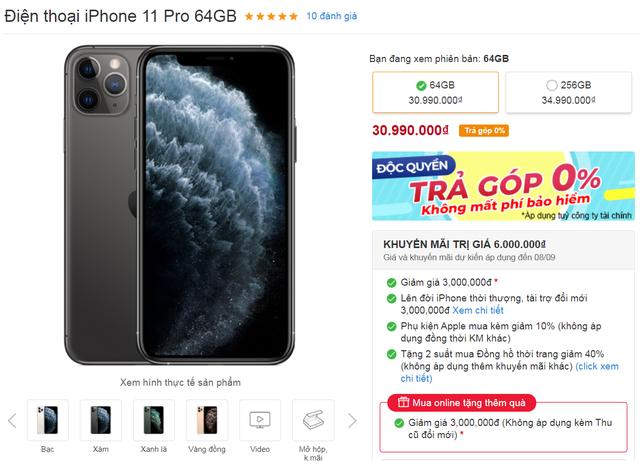 iPhone giảm giá sốc gần chục triệu đồng  - 2