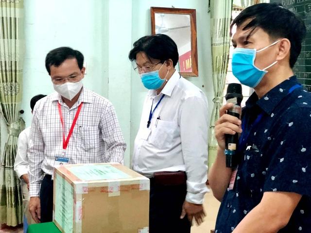 Cục trưởng Mai Văn Trinh kiểm tra công tác coi thi tốt nghiệp tại Quảng Nam - 4