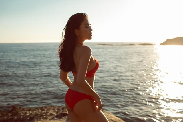 Hot girl Đan Cha khoe dáng gợi cảm dù đang bị kẹt ở Mỹ vì dịch Covid-19 - 5
