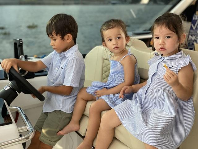 Gia đình Khánh Thi, Hà Anh cho con nghỉ dưỡng hạng sang trước năm học mới - 17