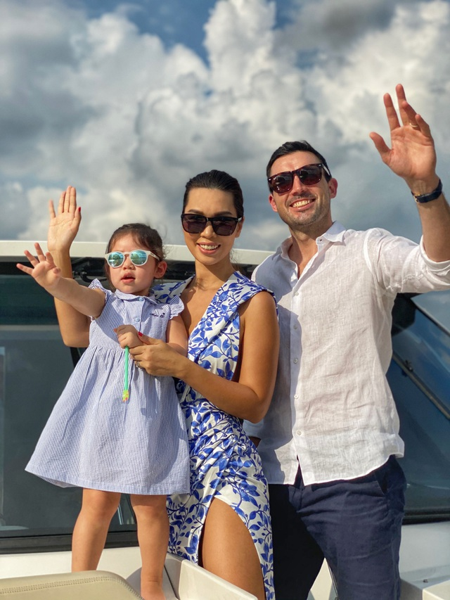 Gia đình Khánh Thi, Hà Anh cho con nghỉ dưỡng hạng sang trước năm học mới - 21