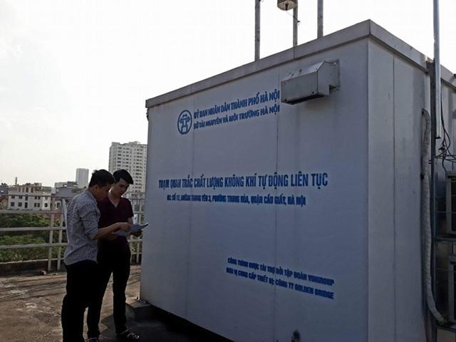 Xác định vị trí đặt trạm quan trắc môi trường không khí tự động - 2