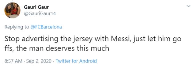 Barcelona bị chỉ trích vì lợi dụng hình ảnh Messi để quảng bá - 3