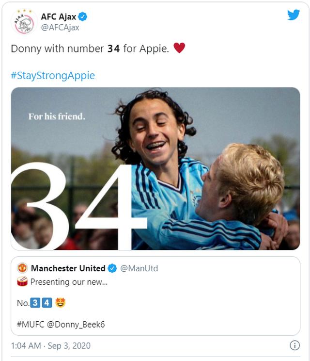Man Utd hoàn tất việc chiêu mộ Donny van de Beek - 4