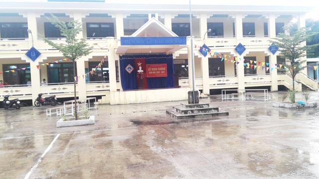Quảng Nam: Ưu tiên học sinh đầu cấp tham dự lễ khai giảng để phòng dịch - 1