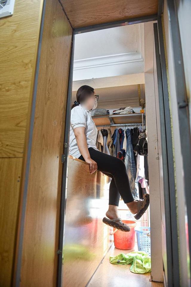 Cuộc sống khó tin bên trong những phòng trọ hộp diêm chỉ 3m2 ở Hà Nội - 6