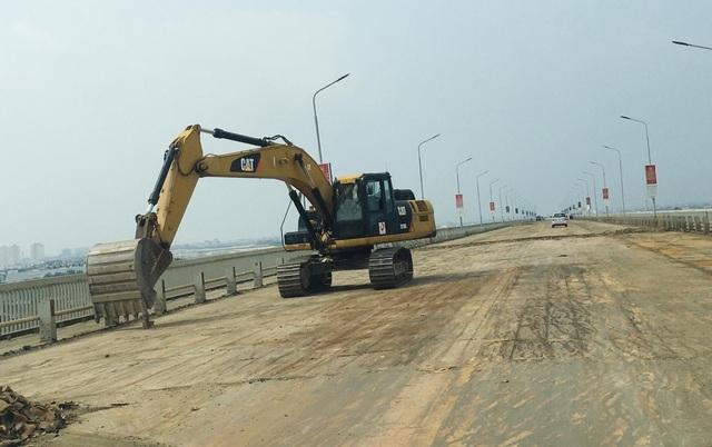 Nhân sự Trung Quốc làm gì tại dự án sửa chữa cầu Thăng Long? - 2
