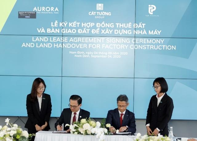 Tập đoàn Cát Tường ký và bàn giao đất xây dựng tại KCN Rạng Đông - 2