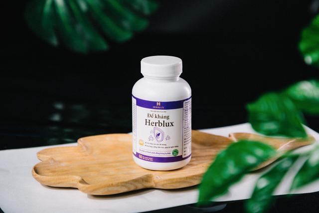Herblux - thực phẩm bảo vệ sức khỏe hỗ trợ tăng cường sức đề kháng trong mùa dịch - 4