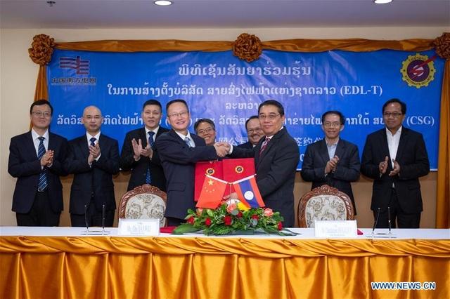 Công ty Trung Quốc tham gia vận hành lưới điện Lào - 1