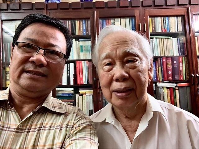 Dưới ánh hoàng hôn hiện lên một Phan Quang giữa đời văn, nghiệp báo - 1