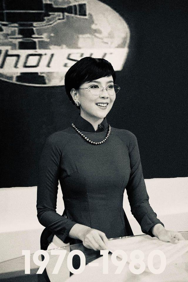 BTV Mai Ngọc được khen giống NSƯT Kim Tiến khi tái hiện MC Thời sự 50 năm - 3