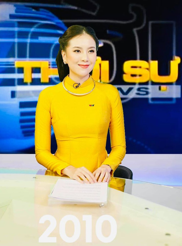 BTV Mai Ngọc được khen giống NSƯT Kim Tiến khi tái hiện MC Thời sự 50 năm - 7