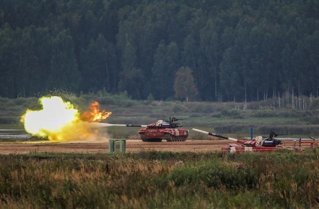 Đội xe tăng Nga chiến thắng nghẹt thở, chỉ hơn đội Trung Quốc 36 giây - 1