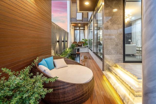 Mua mảnh đất 180m2, vợ chồng Việt làm nhà đẹp như resort ai cũng khen - 17